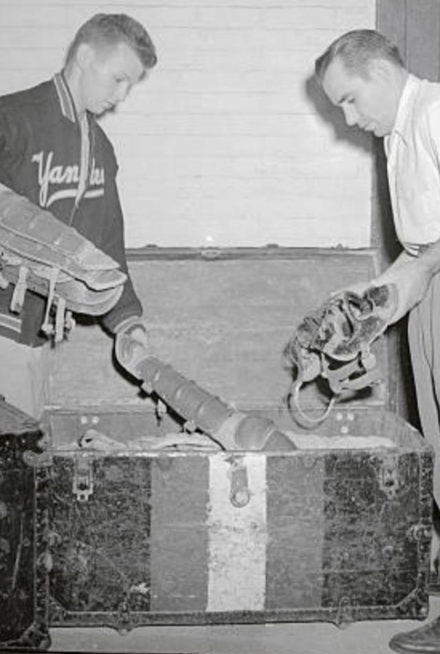 Batboy, Bert Padell and Yogi Berra
