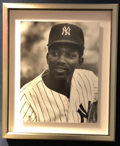 Framed Photo of Mickey Rivers