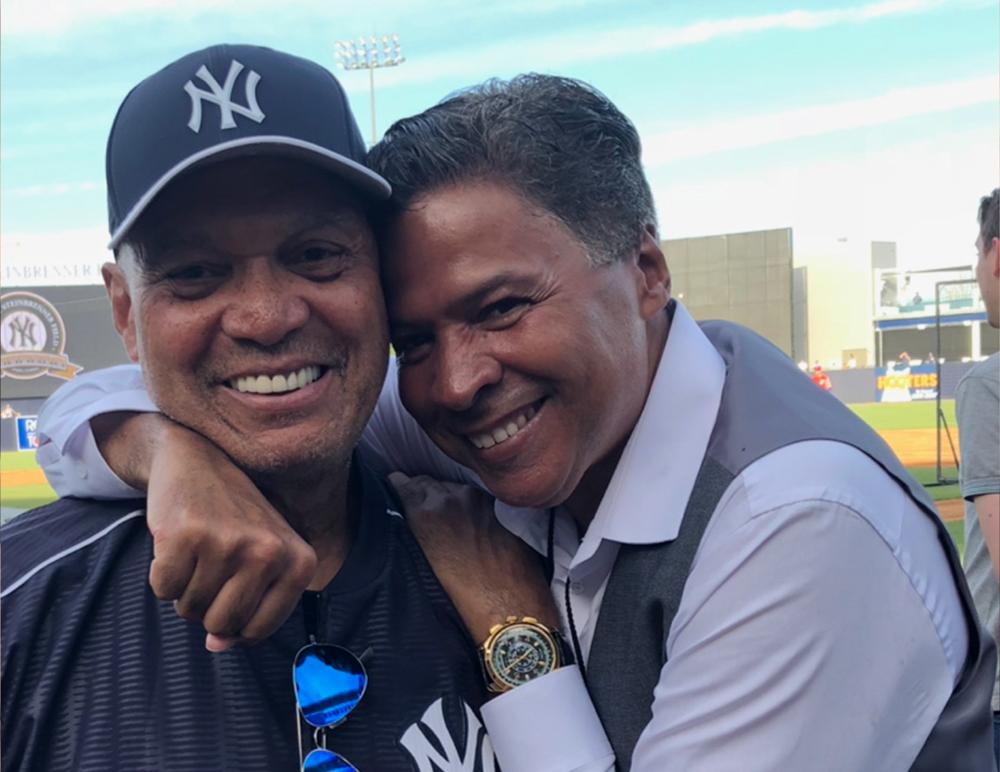 Reggie Jackson and Rey Negron