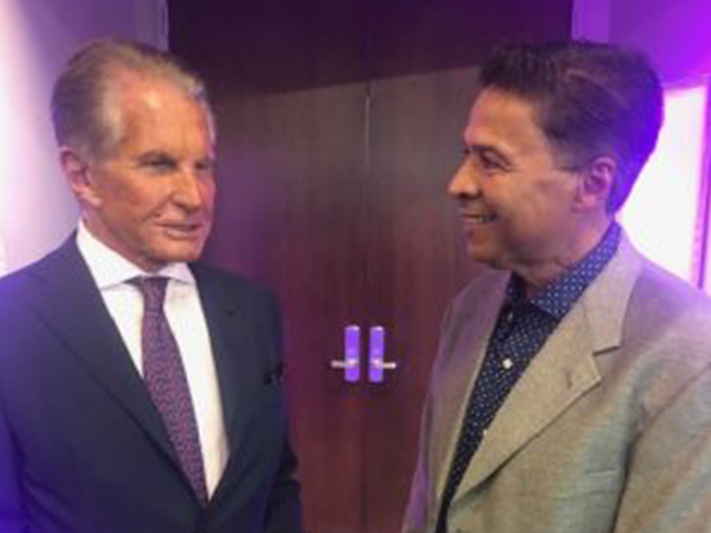 George Hamilton and Ray Negrons